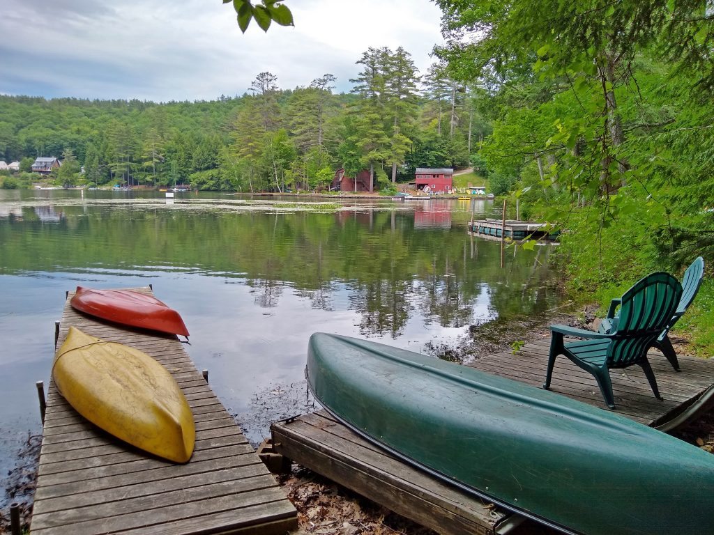 View from the Lake House Dock